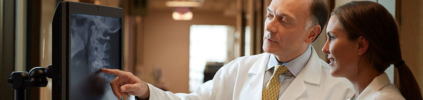 Dr. Agha at the Mario Lemieux Center for Blood Cancer | UPMC Hillman