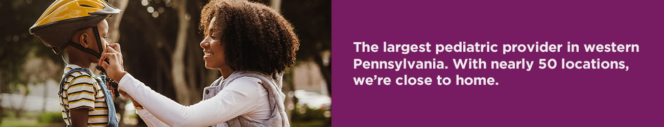 UPMC CCP is the largest pediatric provider in Western PA with nearly 50 locations.