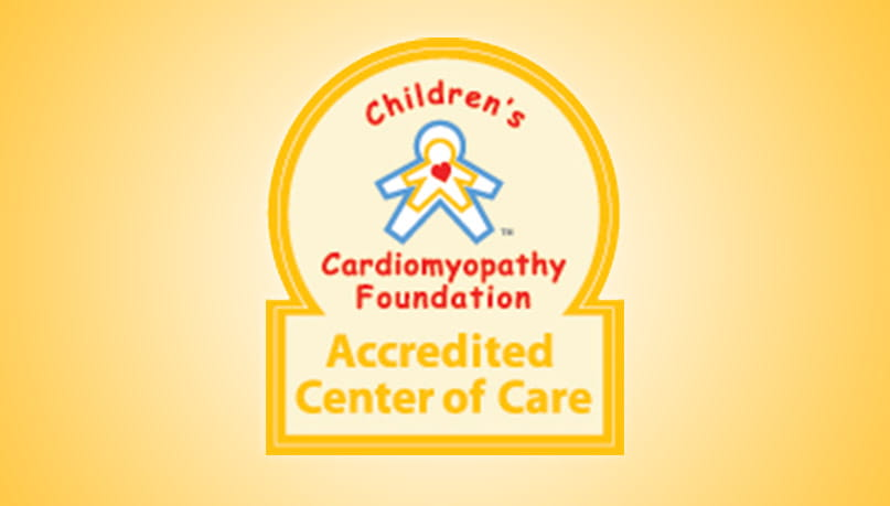 Children's Cardiomyopathy Foundation Accredited Center of Care