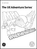 Radiology Adventure Series Coloring Books MRI scan girl