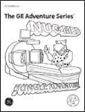 Radiology Adventure Series Coloring Books NUC-MED scan girl