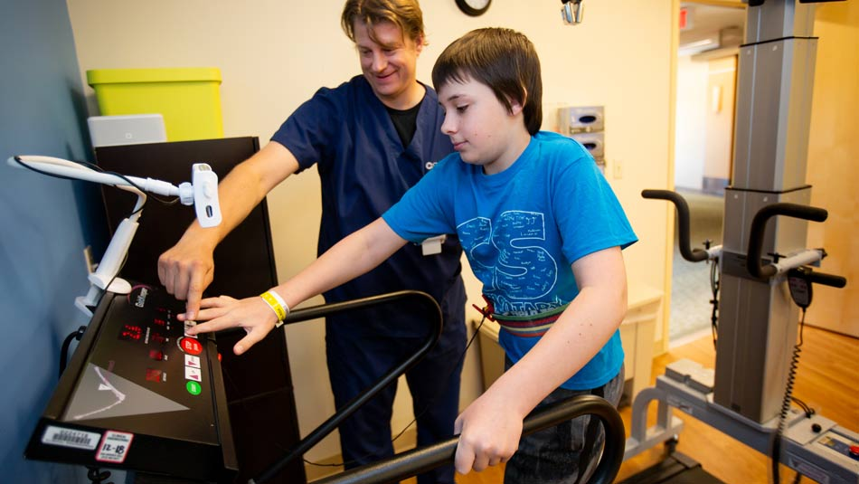 Children's Hospital Rehabilitation Unit (CHRU) Treadmill
