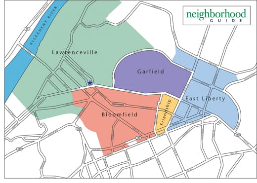 Learn more about Pittsburgh surrounding neighborhoods.