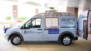 Injury Prevention Home Safety Van