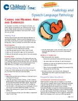 Caring for Hearing Aids and Earmolds PDF