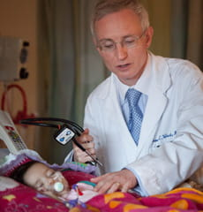 Dr. West  delivered Baylee's prognosis and need for a heart transplant.