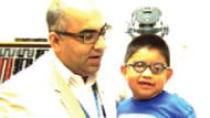 Learn more about Denilson's Cataract and Cornea Surgery at Children's Hospital.
