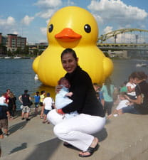 After the success of his surgery, Jacqueline built fond memories of Pittsburgh.