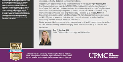 Update in Endocrinology Spring 2021