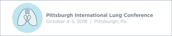 Pittsburgh International Lung Conference 2018