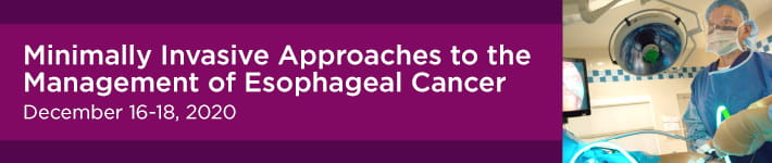 Minimally Invasive Approaches to the Management of Esophageal Cancer