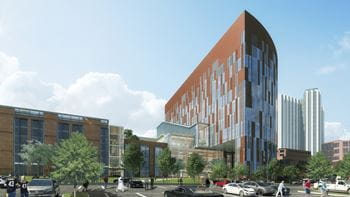 Vision and Rehabilitation Tower Rendering