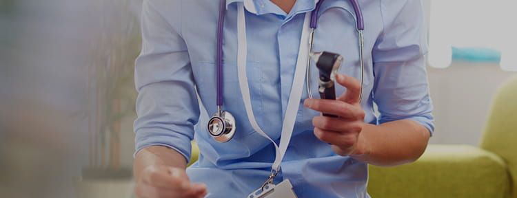 photo of doctor with stethoscope