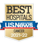 One of the best national hospitals, ranked in cancer care by U.S. News and World Report.