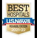 One of the best national hospitals for rehabilitation by U.S. News and World Report.