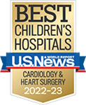 One of the best children's hospitals, ranked in cardiology and heart surgery by U.S. News and World Report.