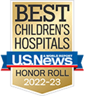 One of the best children's hospitals, ranked by U.S. News and World Report.