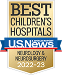 One of the best children's hospitals, ranked in neurology and neurosurgery by U.S. News and World Report.