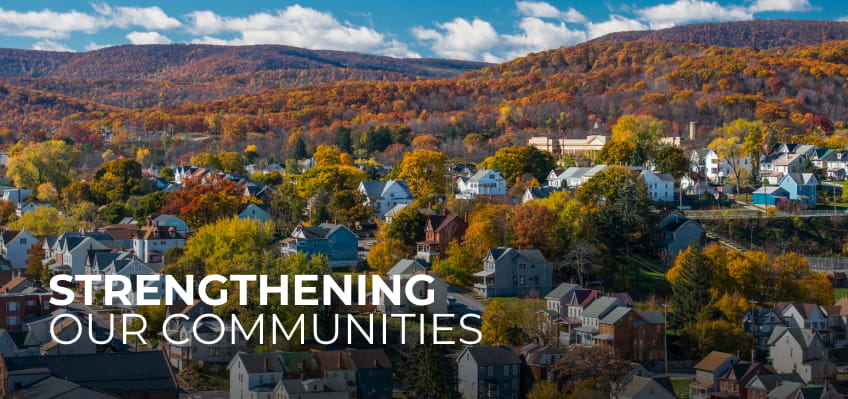 Strengthening our communities