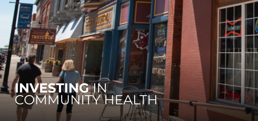 Investing in Community Health