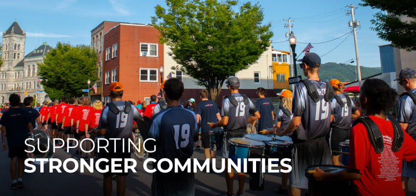 Supporting Stronger Communities