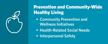 Prevention and Community-Wide Healthy Living