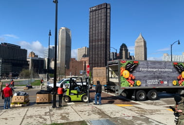 Food truck in Pittsburgh