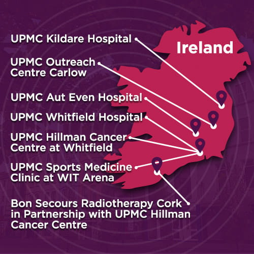 Map of Ireland | UPMC International Division