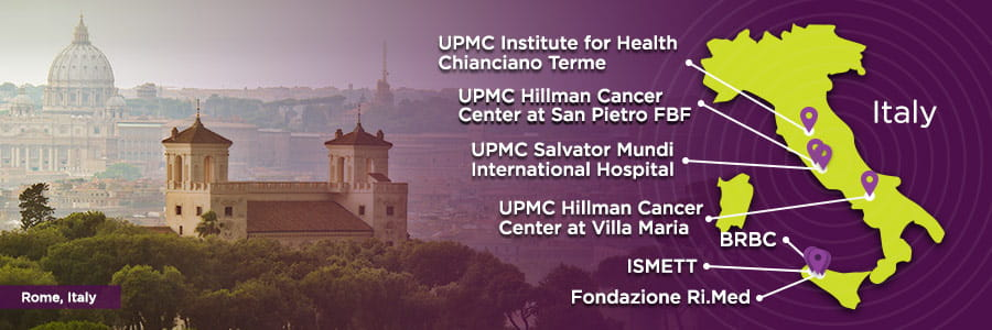 Rome, Italy | UPMC International Division