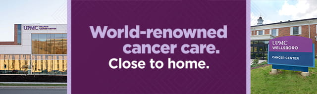 World-renowned cancer care. Close to home.