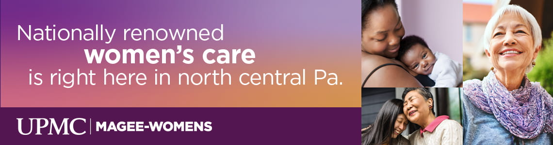 Nationally Renowned Women's Care is Right Here in North Central Pa.