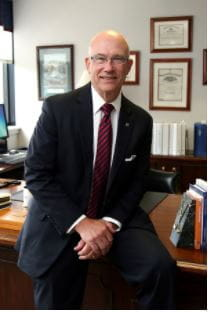Image of Steven P. Johnson President of UPMC in North Central Pa.