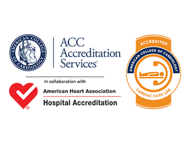 ACC Accreditation Services in collaboration with American Heart Association Hospital Accreditation | Accredited American College of Cardiology Cardiac Cath Lab