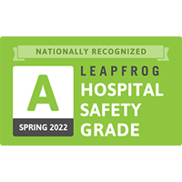 A Rated Leapfrog Hospital Safety Grade