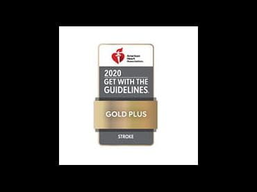 Get With The Guidelines Stroke | Target: Stroke Honor Roll | Gold Plus | American Heart Association