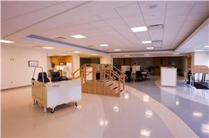 The Joint Center at UPMC Williamsport physical therapy room