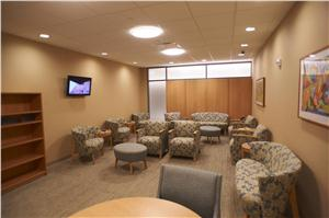The Joint Center at UPMC Williamsport waiting area