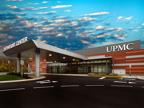 UPMC Outpatient Center on Clairton Blvd. in West Mifflin, Pa.