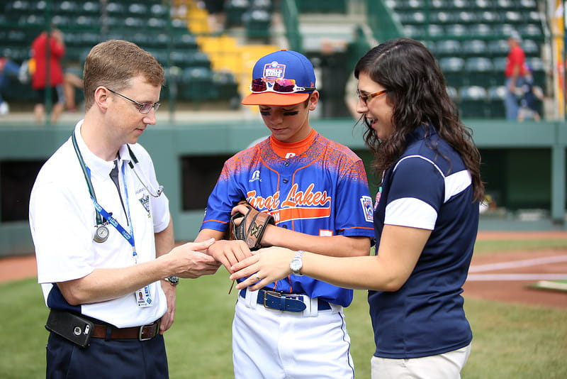 UPMC Sports Medicine baseball player in North Central Pa.