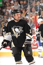 Pittsburgh Penguins hockey player, Gary Roberts, during a game