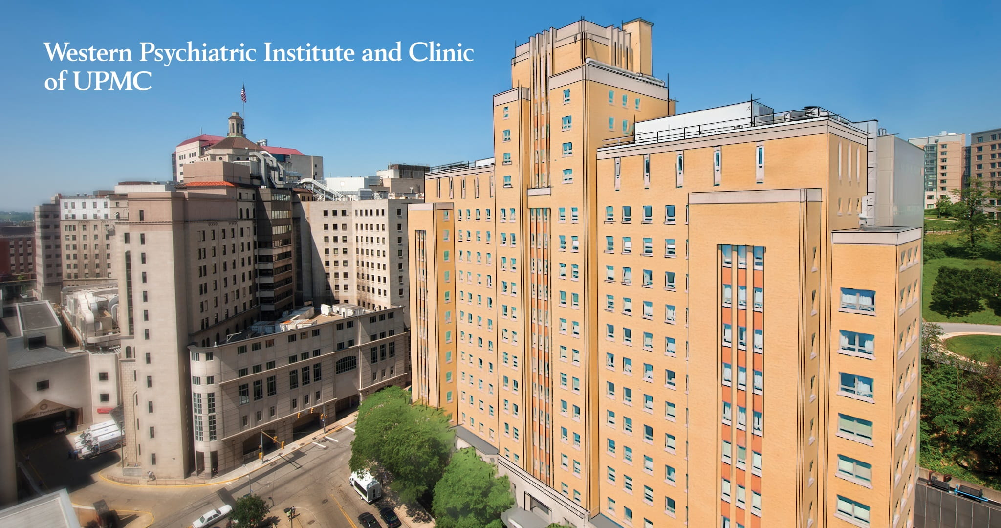Western Psychaitric Institute and Clinic of UPMC artist rendering