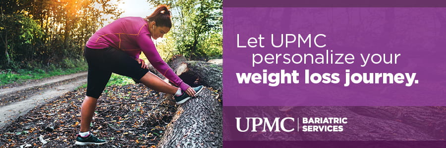 Let UPMC personalize your weight loss journey.