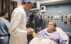 Nancy Hauser and Dr. Ritter | UPMC