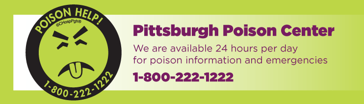 Poison center pittsburgh banner