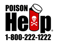 1-888-222-1222 - Poison Help Line - find your local poison center
