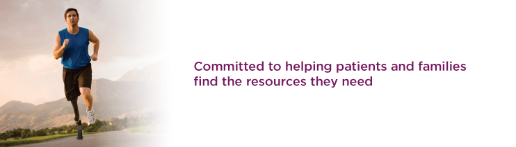 Committed to helping patients and families find the resources they need