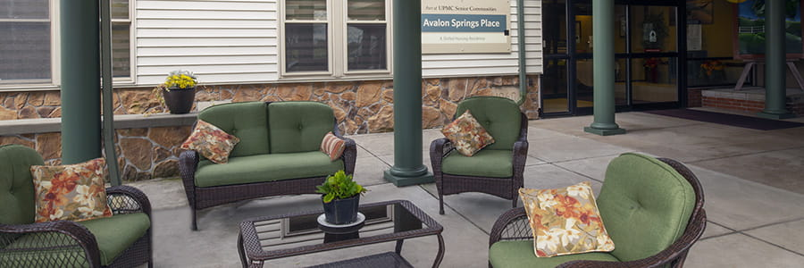 Features and Amenities at Avalon Springs Place