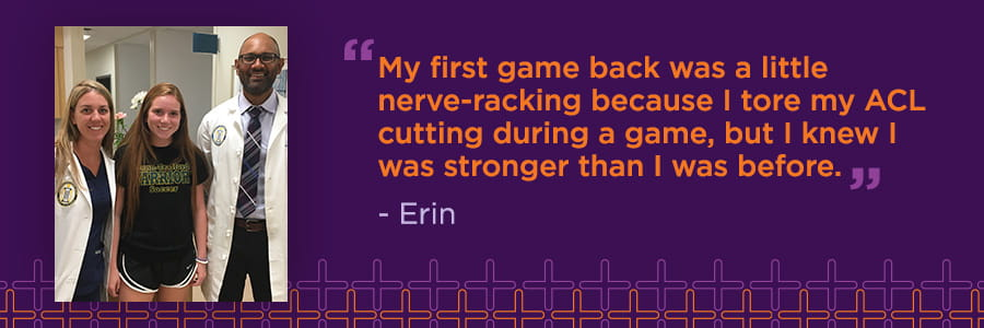 Erin's Story: Comeback After ACL, MCL, and Meniscus Injury
