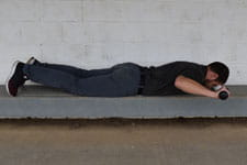 Prone Rowing into External Rotation