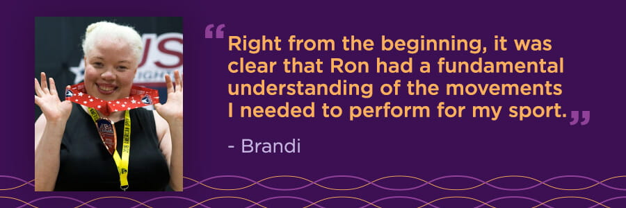 Brandi's Story: Competitive Weightlifter Trains with Sports Performance